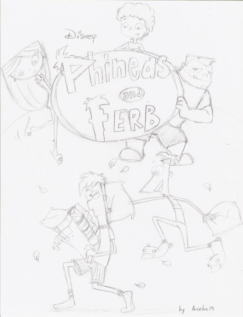 Phineas Y Ferb FAN COMIC by Angelus19