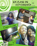 En clase de fotografia