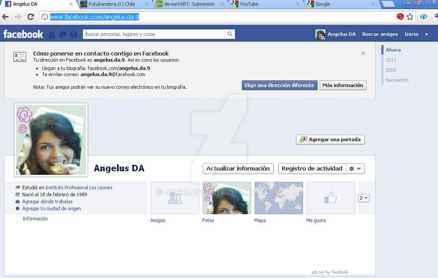 Nueva cuenta publica en facebook by Angelus19