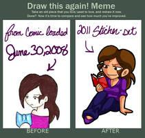 draw it again meme by AceroTiburon