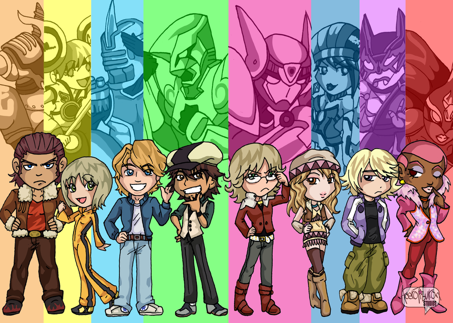 Fire Emblem Tiger And Bunny: Tiger And Bunny By AceroTiburon On DeviantArt