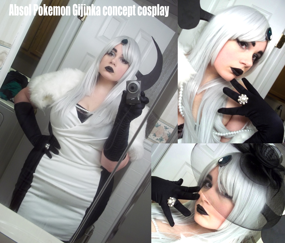 Colossalcon Absol Gijinka Cosplay by AceroTiburon on ...