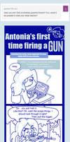 Tumblr comic (Gun Safety) by AceroTiburon