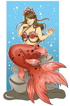 Mermaid Gift Art