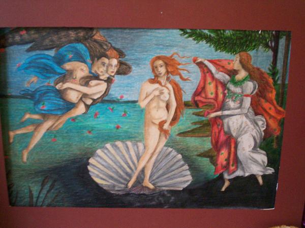 birth of venus master copy by AceroTiburon