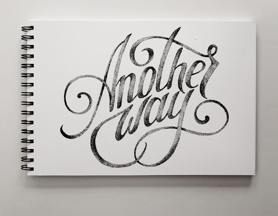 Second try in Lettering by JuliaShaburova
