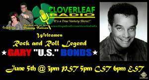 Cloverleaf Radio - Gary 'U.S.' Bonds Mini Flyer by simplemanAT
