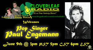 Cloverleaf Radio - Paul Engemann Mini Flyer by simplemanAT