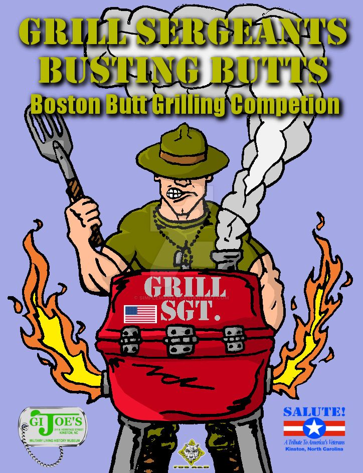 Grill Sergeants Grilling Competition Flyer by simplemanAT