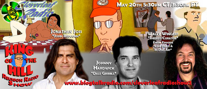 Cloverleaf Radio - King of the Hill Reunion Flyer