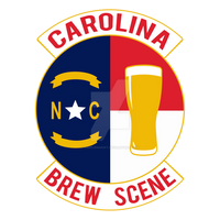 Carolina Brew Scene - Military Patch Graphic