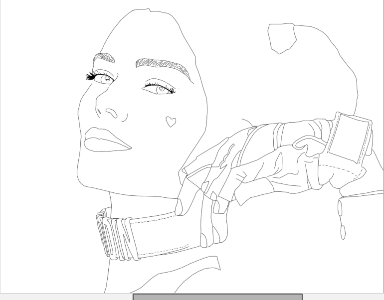 Harley Quinn Tumblr Outline Work In Progress By X1octosphinx1x On