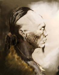 Hunnic Man by el-lagarto