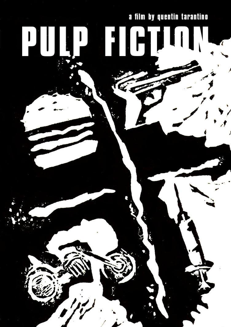 Pulp Fiction movie poster by el-lagarto