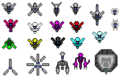 Forerunner Construct Sprites by 117649-M-I