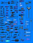 Halo Weapon sprites