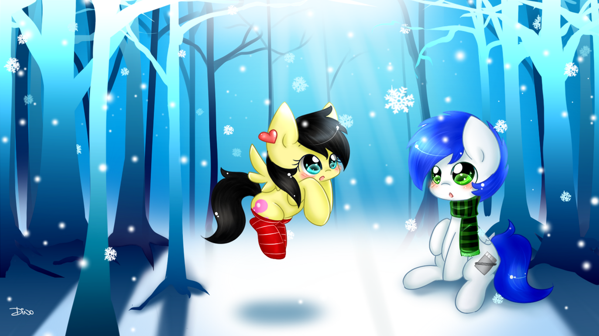 Snowflakes [WP Size] by MrsRemi