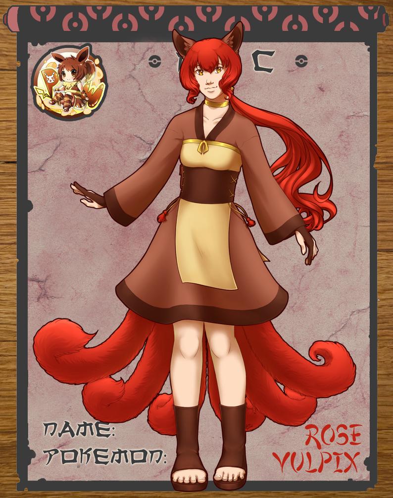 Pokimono: Rose by kuro-tsuki24