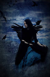 The Girl With Ravens