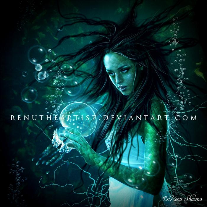 Magical Mermaid by TheDarkRayne