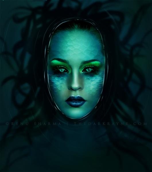 Evil Siren Mermaid Evil Siren Mermaid Costume