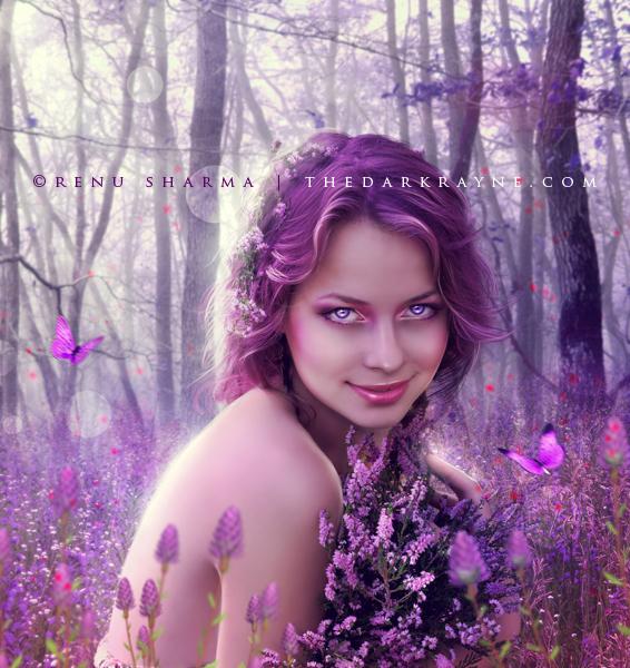 Gypsy In Her Soul (Fields of Lavendar by *renutheartist on)