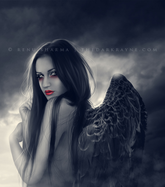Angel of Darkness by TheDarkRayne