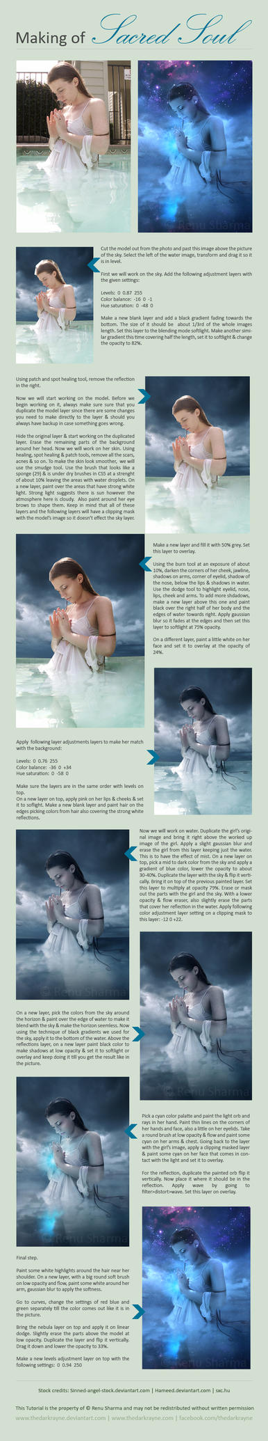 Sacred Soul - Tutorial by TheDarkRayne