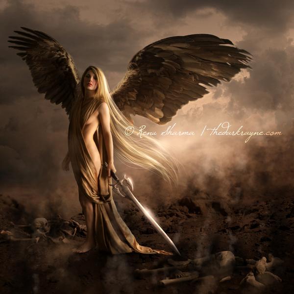 angel photoshop fantasy famale - photo #2