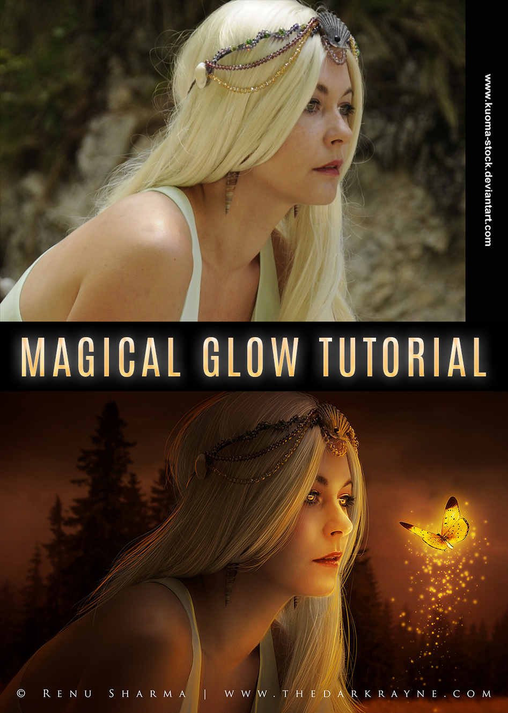 Magical Glow Tutorial by TheDarkRayne