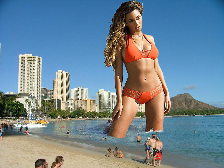 Beyonce in Hawaii by lowerrider