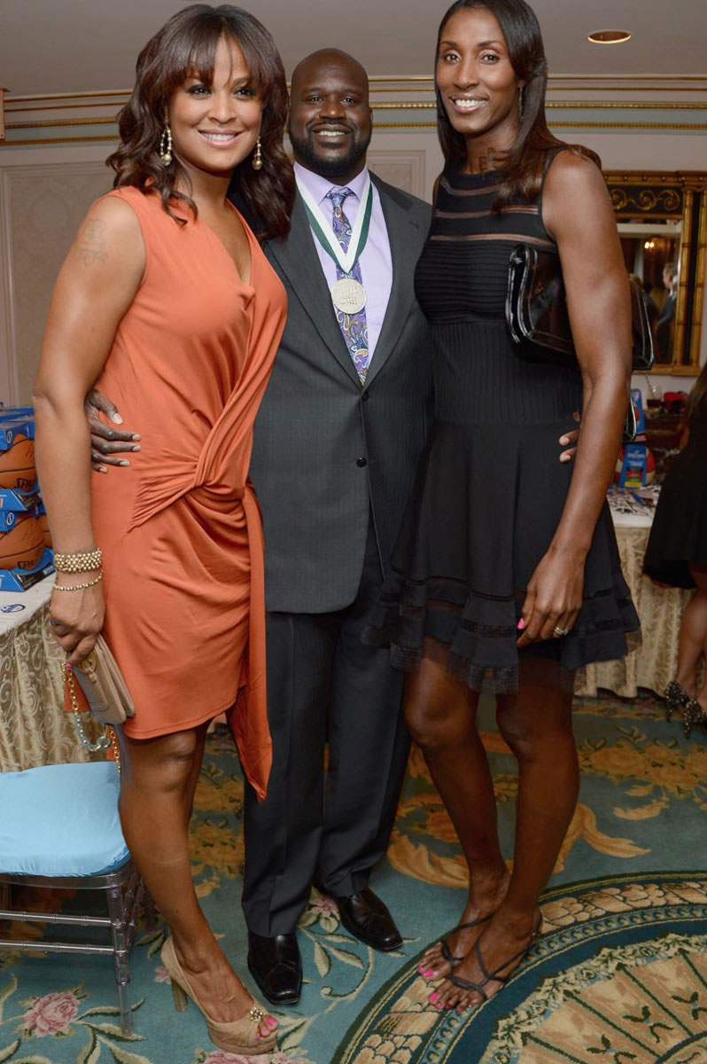 Lisa leslie wedding photos — 2