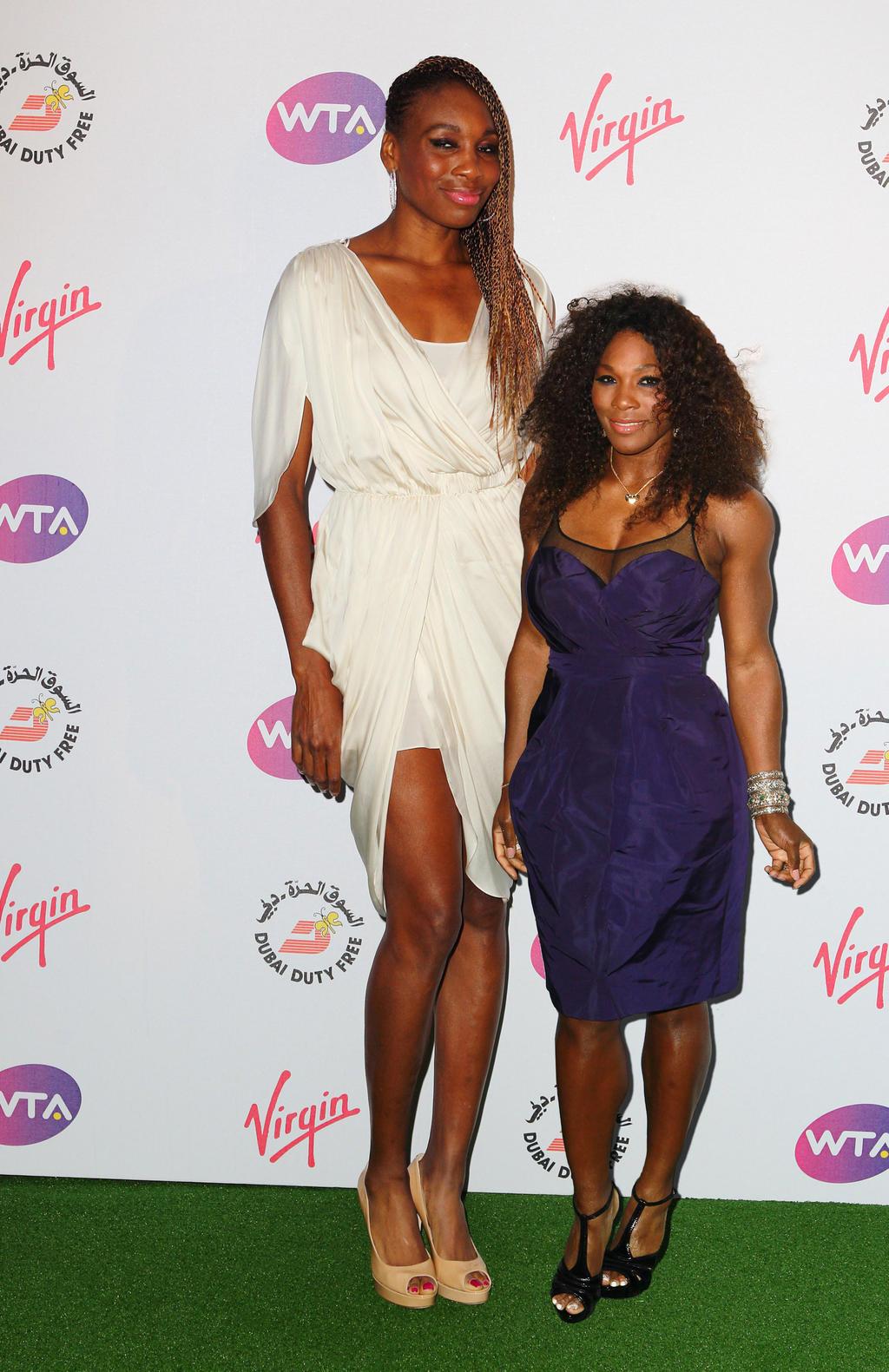 Venus and Serena Williams by lowerrider