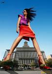 Giantess Chanel Iman pov by lowerrider