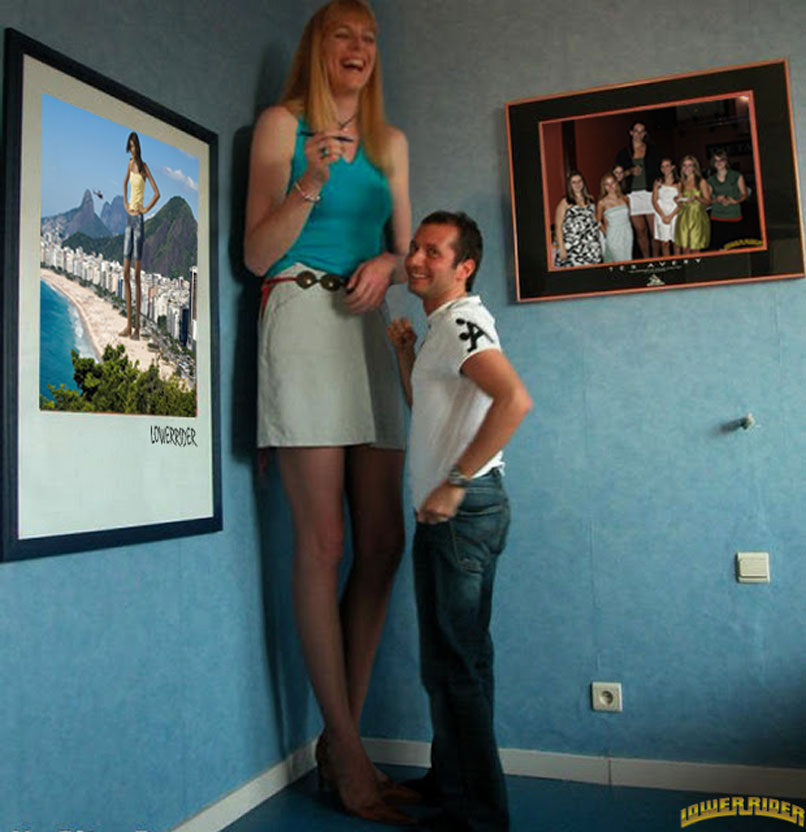 Tall girl short man sex