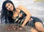 Shilpa Shetty water by lowerrider