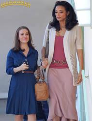 Rochelle Aytes and Alyssa Milano by lowerrider