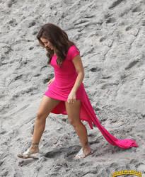 Alyssa Milano sand crush by lowerrider
