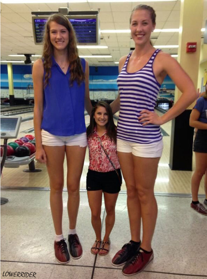 Tall Volleyball Players Pare By Lowerrider