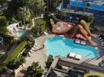 Tiffany Thompson poolside