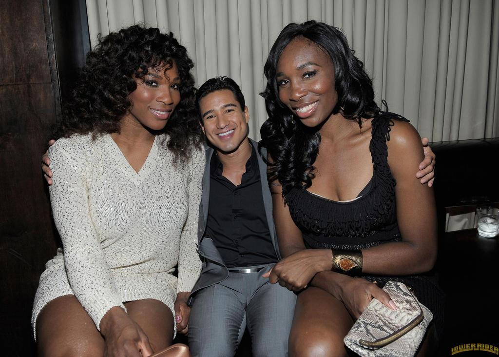 Venus , Serena and Mario by lowerrider