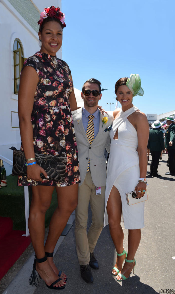 Liz Cambage At Melbourne Cup By Lowerrider
