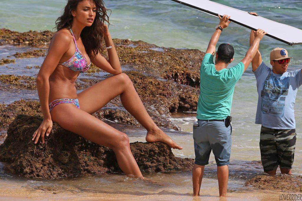 Irina Shayk Tall Irina Shayk Beach Photoshoot