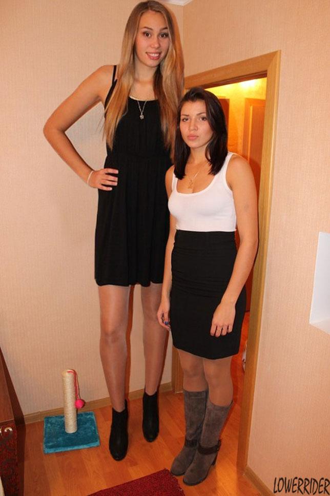 Stupid tall hot girl