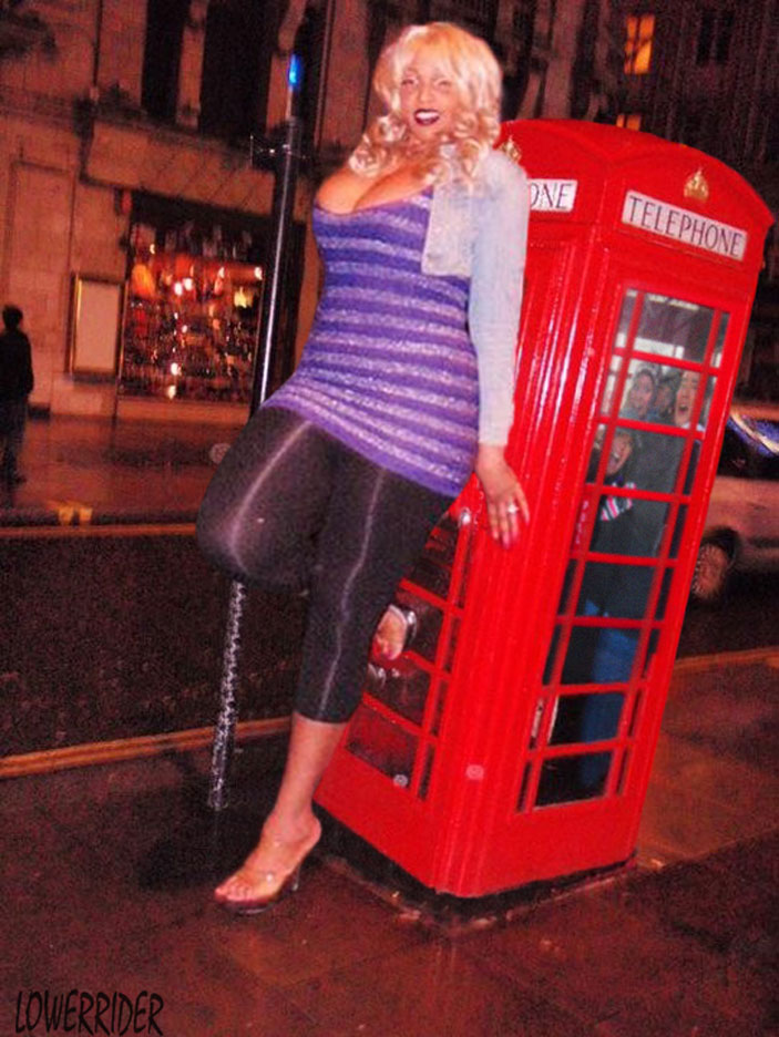 Amazon Ashley phone booth by lowerrider on DeviantArt