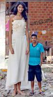 Tall Elisany bride
