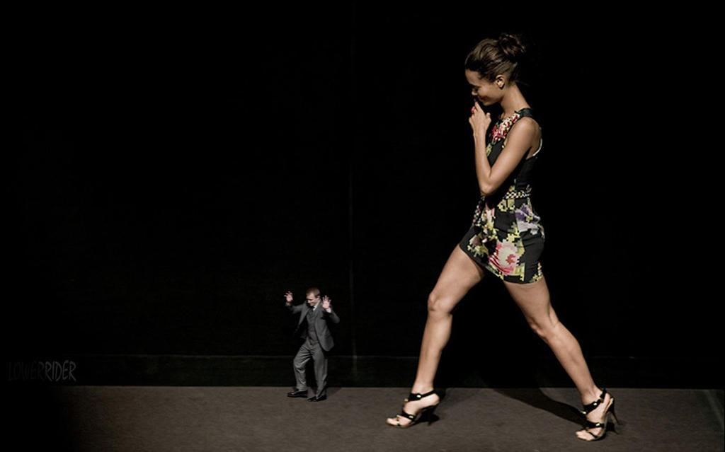 Thandie Newton stage walk by lowerrider