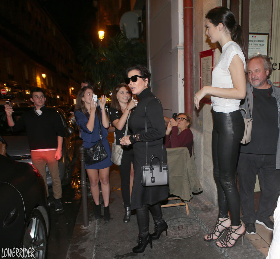 Kendall Jenner sidewalk by lowerrider