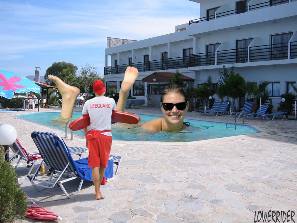 pool video upton Kate