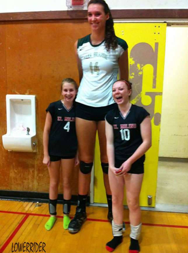 Really tall volleyball player by lowerrider on DeviantArt